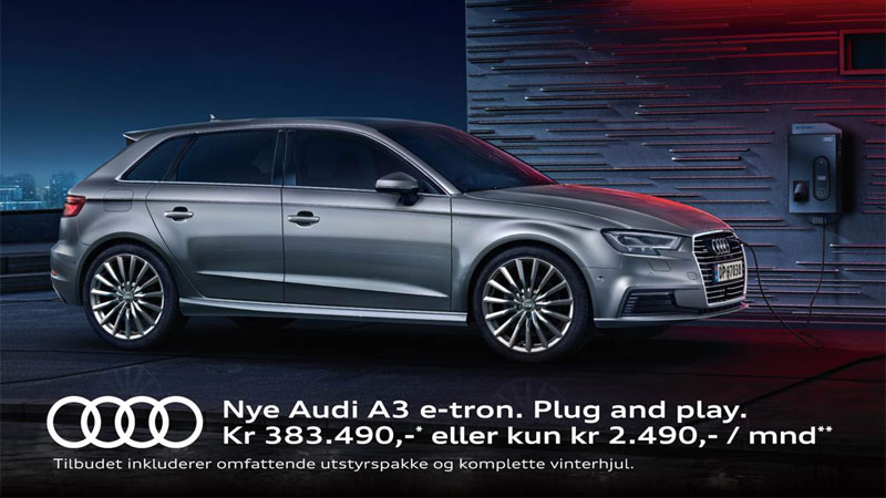 Audi A3 E-tron - Plug-in and play