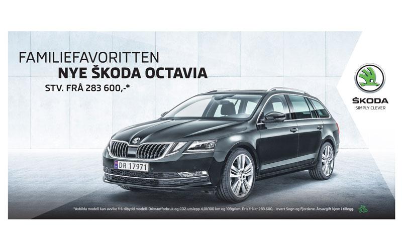 Den nye Skoda Octavia