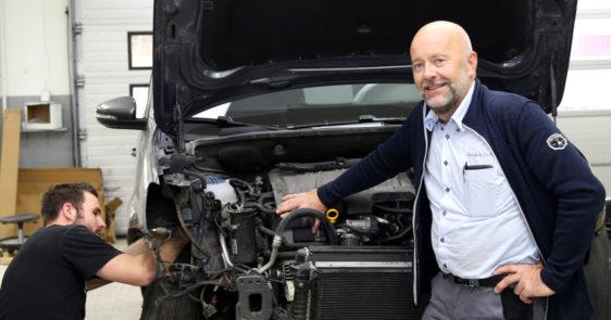 Berge  &  Co  fiksar  bulken  –  på  alle  bilmerke