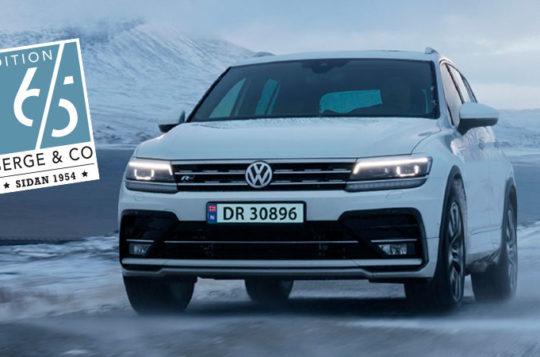Bilde for Jubileumstilbod på Volkswagen Tiguan Edition 65