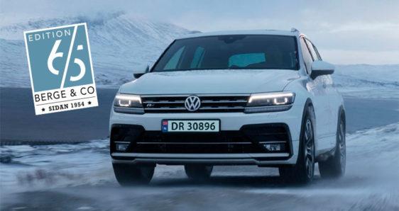 Jubileumstilbod  på  Volkswagen  Tiguan  Edition  65