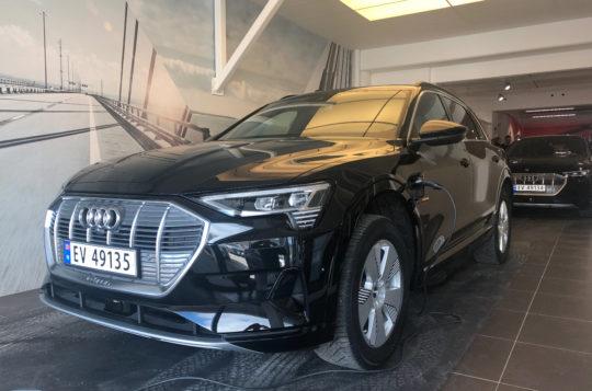Bilde for Første Audi e-tron levert