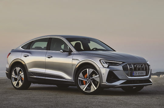 Bilde for Klar for bestilling - Audi e-tron Sportback