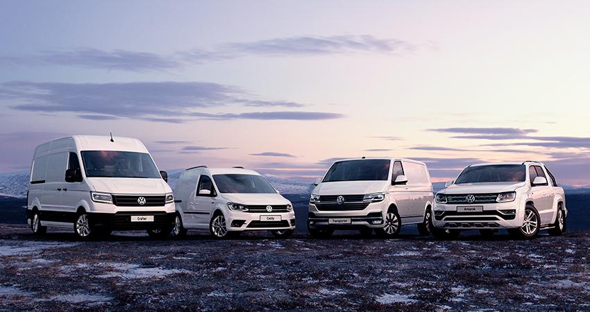 Vinterkampanje  Volkswagen  nytte