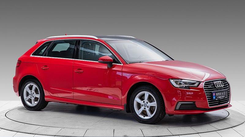 Nyare  brukt  Audi  A3